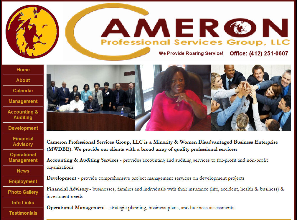 Cameron Professional Services Group , LLC Pittsburgh , PA 15219