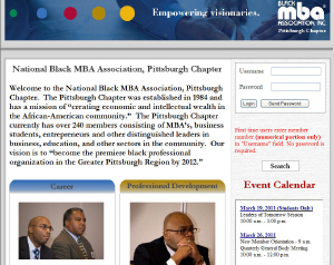 National Black MBA Association - Pittsburgh , PA  15230