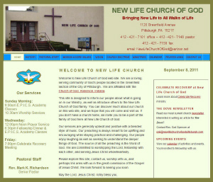 New Life Church of God - Pittsburgh , PA  15217